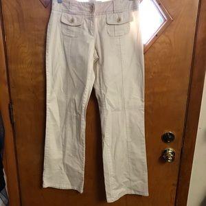 Cabela's casual pants. Size 4. Tan straight leg